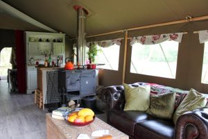 Luxury living in Ceri Safari Tent