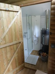 Luxury en suite shower room