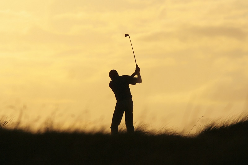 Golf at Sunset