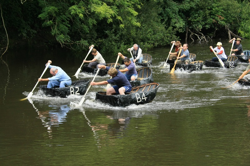 River Teifi Coracle Racing